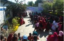 Nepali vrouwen komen er wel