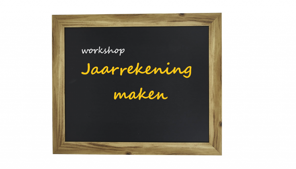 Workshop jaarrekening